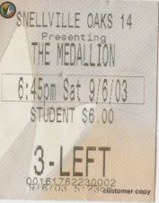 The Medallion (9/6/2003)