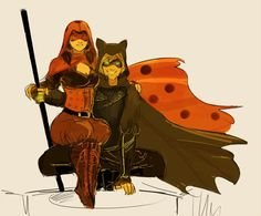 Ladybug and Chat Noir. What is this? Assassin's Creed? (Miraculous Ladybug)
