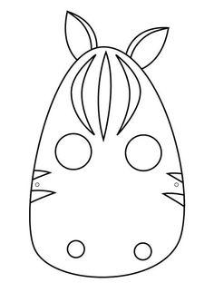 Moldes de mascaras de animales para imprimir - Imagui