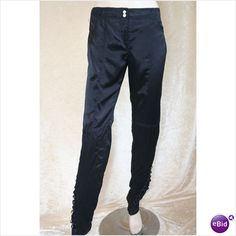 #Karen Millen Designer Black Beaded Evening Trousers Size 8 New with tag on eBid United Kingdom  dresses and skirt #2dayslook #new #tenderfashion  www.2dayslook.com