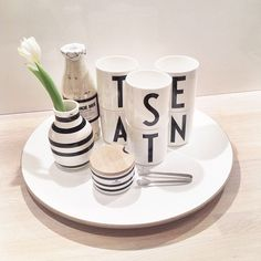 Kitchen Styling - Arne Jacobsen Cups
