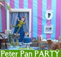 Festa Peter Pan - Festa l'Isola che non c'è con Peter Pan e Trilli - da stampare - fai da te - PDF