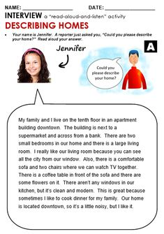 Apartments and Houses - All Things Topics English Grammar For Kids, English Grammar Worksheets, English Lessons For Kids, English Reading, English Language Learning, Learn English Words, English Writing, English Study, English Vocabulary