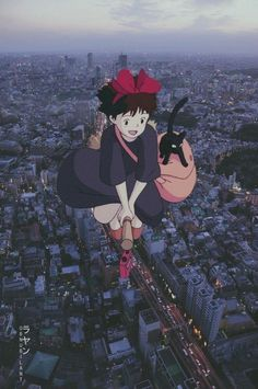 Studio Ghibli Films, Art Studio Ghibli, Totoro, Art Anime, Anime Kunst, Hayao Miyazaki, Animes Wallpapers, Cute Wallpapers, Japon Illustration