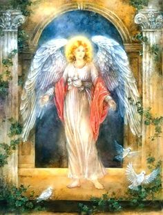 Guardian Angel Images, Guardian Angels, Angel Prayers, I Believe In Angels, Angels Among Us, Angel Pictures, Angels In Heaven, Wow Art, Religious Art