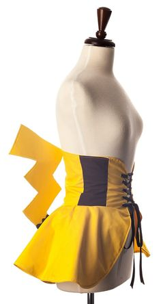 This Castiel Cincher Skirt Has Angel Wings!