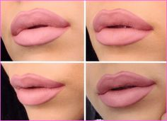 How To Apply Lip Liner and Lipstick #Lipstick #LipLiner #LipMakeup