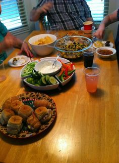 Housewarming party. cheap party food!