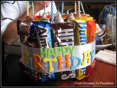 Great idea for those that hate cake. (which of course I personally CANNOT understand!) ;)