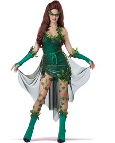 Poison Ivy Beauty Womens Costume