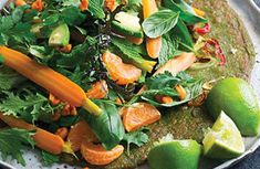 Huckleberry is New Zealand's largest retailer of natural, organic and gluten free foods, with stores throughout Auckland as well as online shopping. We also offer free advice on naturopathic and health products. Vietnamese Crepes, Vegan Vegetarian, Vegetarian Recipes, Crepe Batter, Pickled Carrots, Bean Sprouts, New Cookbooks, Fresh Green, Raw Food Recipes