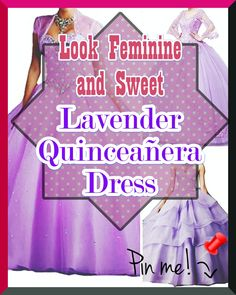 Lavender Quinceanera gowns - Beautiful quinceanera and Sweet 16 dresses - Size Chart for picking out the ideal size. Affordable quinceanera gowns and dress accessories for your dream party.,.. Quinceanera Trends & Tips ? Does Your Quince Dress Have to be Lavender? Lavender Quinceanera Dresses, Dream Party, Sweet 16 Dresses, Different Patterns, Size Chart, Feminine, Gowns, Trends, Tips
