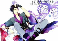 Browse Hajime Mutsuki Tsukiuta collected by AmanoStrawberrytart and make your own Anime album. Hot Anime Guys, Cute Anime Boy, Anime Boys, Manga Art, Anime Art, Magical Warfare, Musaigen No Phantom World, Tsukiuta The Animation, Boy Idols