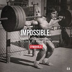 Daily fitness motivation in order to achieve your goals in the gym. Whether you want to build muscle or lose fat, we will help you. Aesthetics Bodybuilding, Bodybuilding Workouts, Bodybuilding Motivation Quotes, Men's Bodybuilding, Powerlifting Quotes, Arnold Schwarzenegger Bodybuilding, Crossfit, Fit Life, True Words