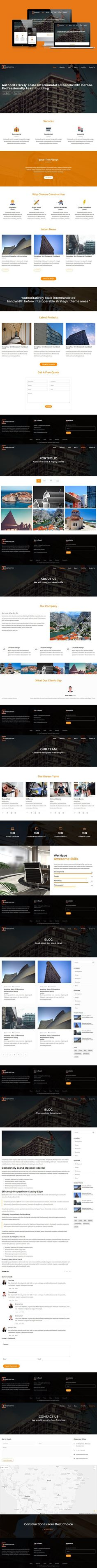Ezna – Personal Portfolio Template. HTML/CSS Themes | HTML/CSS ...