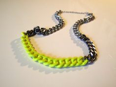 neon jewelry makeover an easy one  that looks great