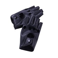 ROPALIA Women Leather Driving Fingerless Mittens Dance Punk Motorcycle Gloves - http://todays-shopping.xyz/2016/07/28/ropalia-women-leather-driving-fingerless-mittens-dance-punk-motorcycle-gloves/