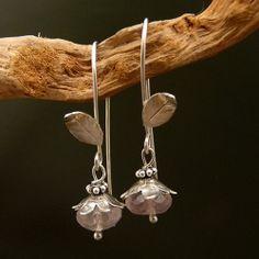 Simply lovely Sterling Silver Earrings Handmade by elfi74 on Etsy, $54.00