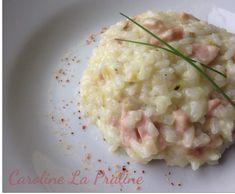 Risotto Courgettes lardons et piment d'Espelette by Karo Gayou on www.espace-recettes.fr