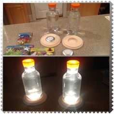 Elegant Fun DIY Project For The Kids With A Hurricane Approaching And Threat Of  Losing Power.