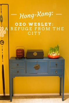 Ozo Wesley, Hong Kong is the perfect refuge from the buzzing city.