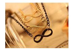 Cerkos.com: Bijoux Fashion Vintage Infinity 8 Bracelet For Women Bracelets Gift Wholesale Bangles Men Jewelry