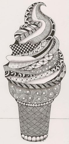 Drawing Doodles Ideas Learn how to Zentangle, including directions and ideas on getting started, what materials to use, and Zentangle inspiration. Cute Doodle Art, Doodle Art Designs, Doodle Art Drawing, Zentangle Drawings, How To Zentangle, Doodles Zentangles, Doodle Patterns, Art Patterns, Doodling Art