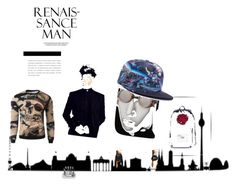 """ren"" by fellowwanderers ❤ liked on Polyvore featuring men's fashion and menswear"