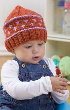 Pattern Correction - Knit Baby Fair Isle Hat