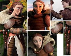 """""""Valka Cosplay Refs and Help """" This one was a toughie, it was hard to find any information about the most crucial parts of her outfit, the armour. Whilst the shield is basically just a round object..."""