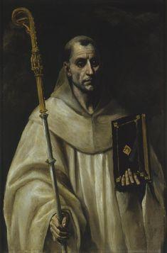 St Bernard, 1579, El Greco