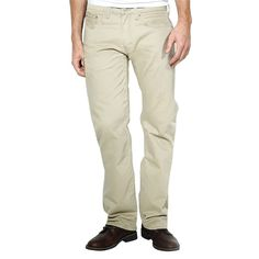 Men's Levi's® 559™ Relaxed Twill Pants, Size: 34X36, Lt Beige
