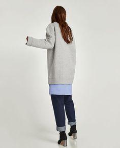 изображение 5 из ТОЛСТОВКА В СТИЛЕ OVERSIZE от Zara