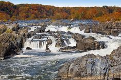 Great Falls - Virginia View. been there! it's surprisingly impressive