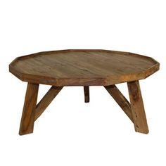 Konferenční stolek z teakového dřeva HSM Collection Diamond,50cm