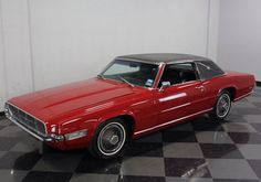1969 Ford Thunderbird, nice ride