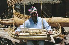 Porfirio Limachi boatbuilder
