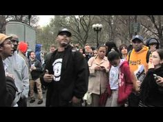 """Hundreds of people gathered in Union Square for the """"""""One Million Hoodies"""" rally to bring attention to the killing of Trayvon Martin. (March 21, 2012)"""
