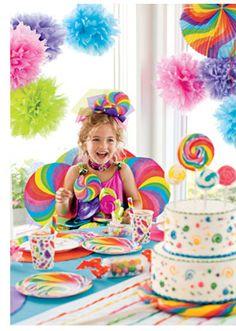 ♥ Sugar Buzz Party - candy party....cool idea