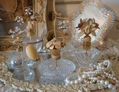 Antique Jeweled Perfume Bottles