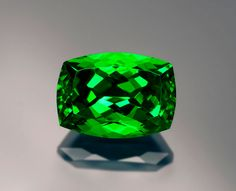 5-plus-carat tsavorite from the Lualenyi Mine.   I have a 2 carat tsavorite ring in an antique setting. Love it.