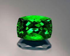 5-plus-carat tsavorite from the Lualenyi Mine.