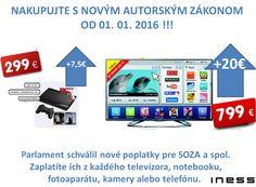 Vďaka novému autorskému zákonu budete z každéhu nákupu počítača, fotoaparátu, či telefónu posielať SOZA & spol oveľa viac http://blog.etrend.sk/iness/novy-autorsky-zakon-a-komu-tim-prospjete-.html?utm_source=etrend&utm_medium=blog&utm_campaign=listing
