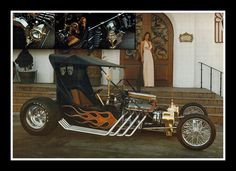 """""""Gold Rush T' Show Car, 1977 by Cosmo Lutz, via Flickr"""