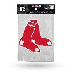 Boston Red Sox Static Cling Sticker, Multicolor