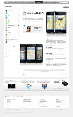 Apple - iPhone - Features - Maps with GPS (11.06.2008)