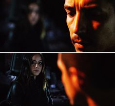 """Robbie Reyes and Daisy Johnson #Marvel Agents of S.H.I.E.L.D. #AoS #AgentsofSHIELD 4x22 """"World's End"""""""