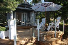huvila ja huussi -beach house