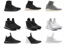 adidas previewed its upcoming Tubular collection at Paris Fashion Week.