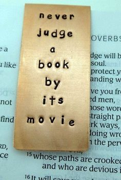 This is so true. I've seen good movies but the book is so much better. Key message: Read the book. Reading Quotes, Book Quotes, Me Quotes, Book Memes, Reading Books, Funny Quotes, I Love Books, Good Books, Books To Read